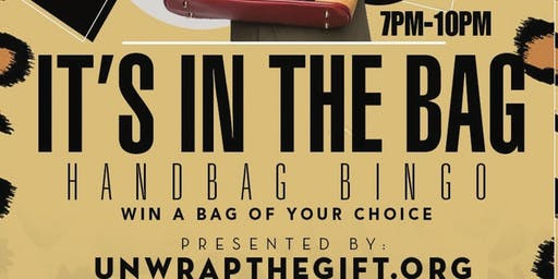 It's in the Bag Handbag Bingo