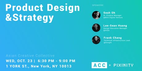 Asian Creative Collective - Product Design & Strategy tickets