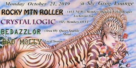 Crystal Logic, Bedazzlor, Bad Molly, Rocky Mtn. Roller tickets