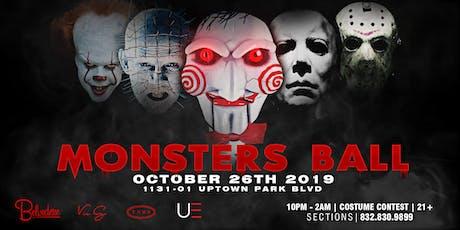 Monster's Ball at Belvedere 10.26 tickets