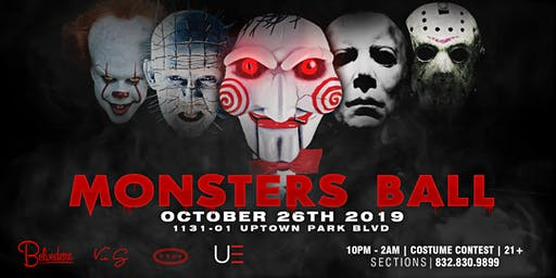 Monster's Ball at Belvedere 10.26