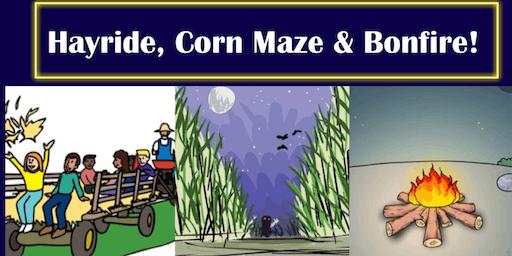 NJEA TeamSouth Hayride, Corn Maze  & Bonfire at Indian Acres in Medford