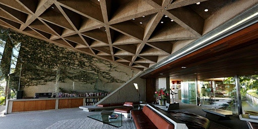 Visit John Lautner's Sheats-Goldstein House