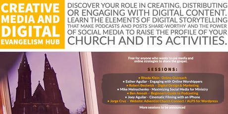 Creative Media and  Digital Evangelism Hub tickets