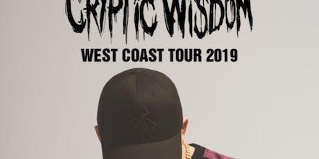 Cryptic Wisdom (Spokane) tickets