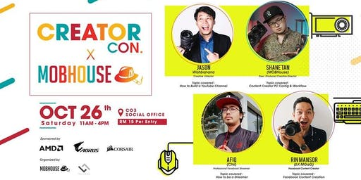 Creator Con X MOBHouse Workshop