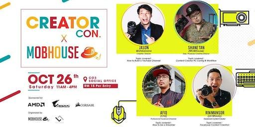 Creator Con X MOBHouse Workshop