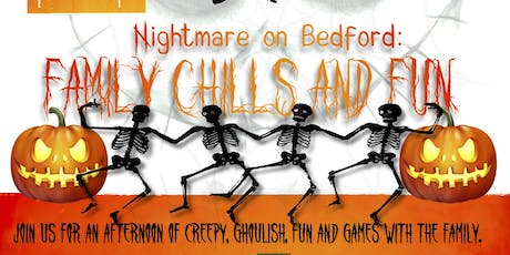 Nightmare on Bedford: Family Chills and Fun tickets