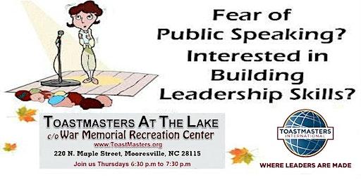 Sharpen Your Public Speaking & Leadership Skills!