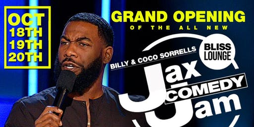 Billy and Coco Sorrells Present: Jax Comedy Jam