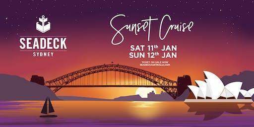 Seadeck Sunset Cruise - Sat 11 Jan