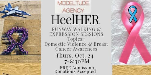 HeelHER: Runway Walking & Expression Session (Domestic Violence/Breast Cancer)