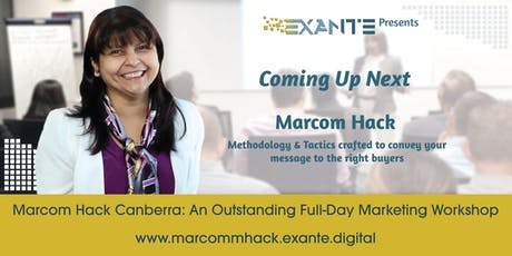 Marcom Hack - Canberra tickets
