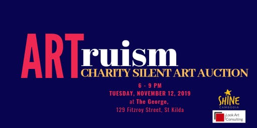 ARTruism: Shine's Inaugural Silent Auction Event: be ARTruistic