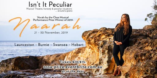 'Isn't it Peculiar' | OSSA Musical Performance Prize
