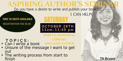 Aspiring Author's Seminar