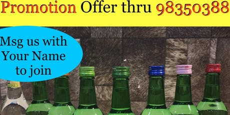Korean Jinro Soju on Free Tasting Event, 1 Nov 2019 by Drink2Connect tickets