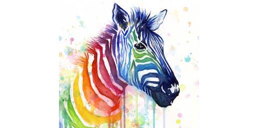 Rainbow Zebra - Gap View Hotel