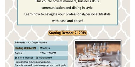 Etiquette: Learn all the essentials of proper #Etiquette #Communication #Image for professional and personal life. tickets