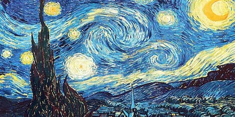 Van Gogh Starry Night - Gap View Hotel tickets