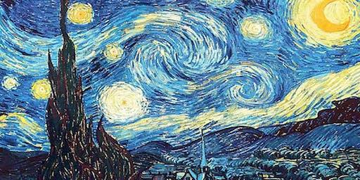 Van Gogh Starry Night - Gap View Hotel