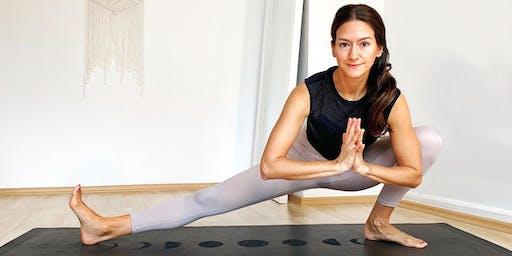 Heartopening Yoga Flow mit Wina