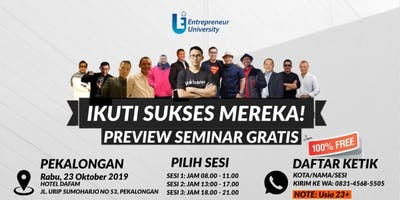 SEMINAR ENTREPRENEUR UNIVERSITY