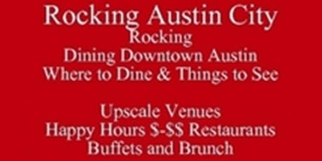 Save Half-Off Food & Drink Rocking Austin City Rocking Dining Downtown Austin Restaurants Where to Dine & Things to See Upscale Venues Happy Hours $-$$ Restaurants Buffets and Brunch Living in Austin or Visiting UT, Free Food Tour Talk - PDF tickets
