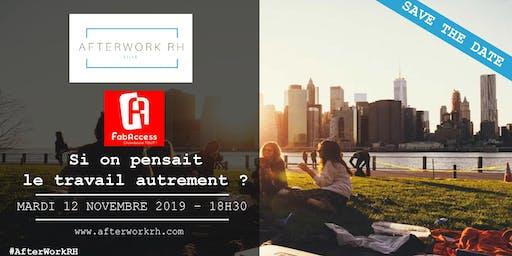 AfterWork RH Lille - novembre 2019 - Si on pensait le travail autrement ?