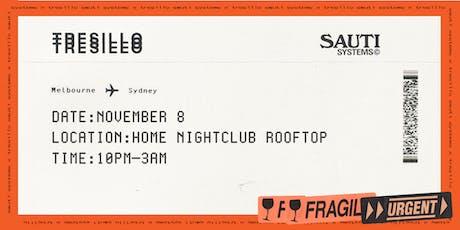 SAUTI SYSTEMS X TRESILLO - SYDNEY tickets