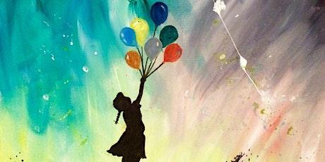 Bansky Balloon Girl - Gap View Hotel tickets