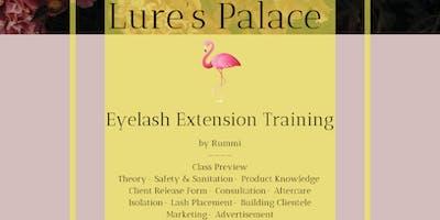 Lure's Eyelash Training