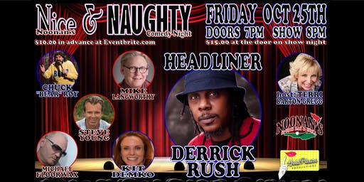 Noonans Nice & Naughty Comedy Night