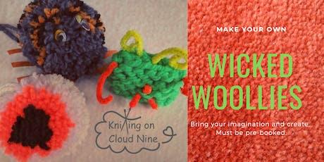 Kids Wicked Woollies Workshop for Halloween tickets