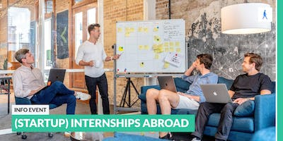 Go abroad: Info event about (startup) internships abroad | Berlin TU