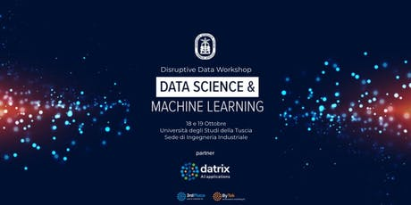 Disruptive Data Workshop 2019 - Data Science e Machine Learning a Viterbo biglietti