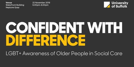 Confident with Difference – LGBT+ Awareness of Older People in Social Care tickets