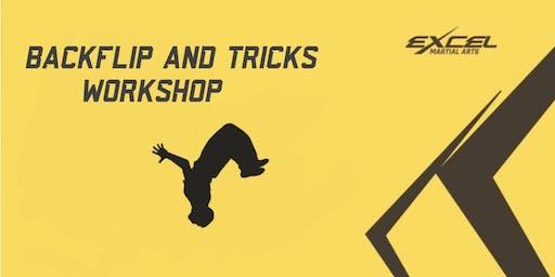 Back Flip and Tricks Workshop
