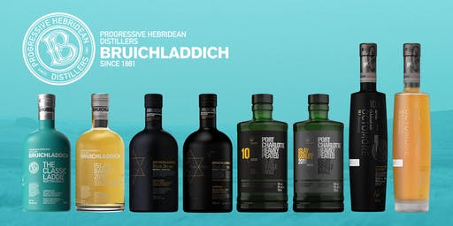 Bruichladdich Scotch Whisky Dinner with Brand Ambassador Jason Cousins