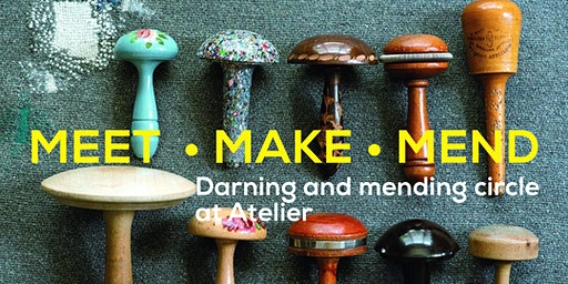 February MEET•MAKE•MEND Visible Mending Circle at Atelier