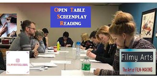 Open Table Screenplay Reading (FREE feedback)
