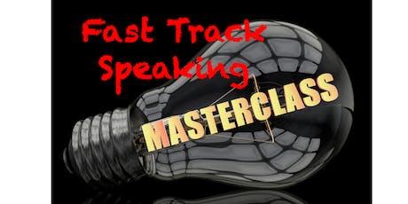 Public Speaking Fast Track Masterclass - Morning program tickets