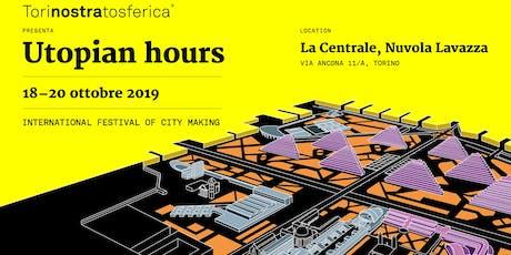 Registrazione crediti  CFP per il festival Utopian Hours biglietti