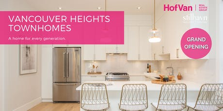 4352 Albert Street Grand Opening: Four Boutique Burnaby Townhomes tickets