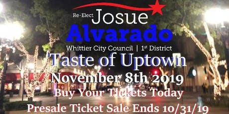 Josue Alvarados Taste of Uptown Campaign Fundraiser  tickets