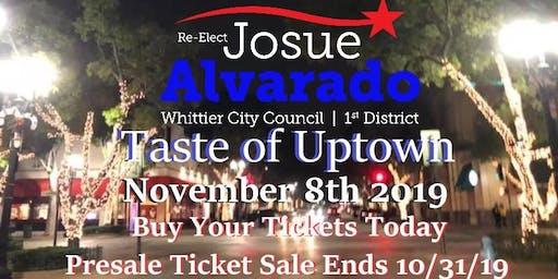 Josue Alvarados Taste of Uptown Campaign Fundraiser