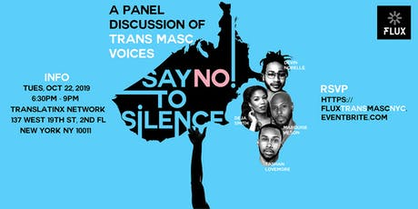 Say No To Silence: Trans Masc Panel tickets
