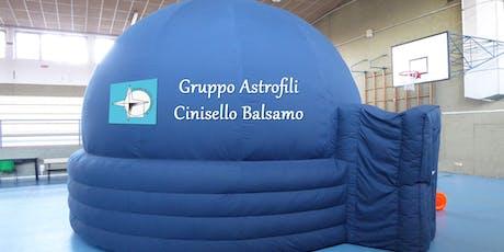 Planetario 14-99 anni. Il cielo del mese biglietti