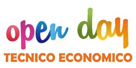Openday | Tecnico Economico biglietti