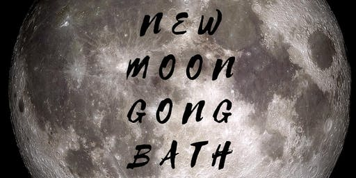 New Moon Gong Bath Meditation